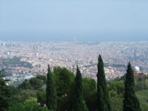 Barcelona utsikt