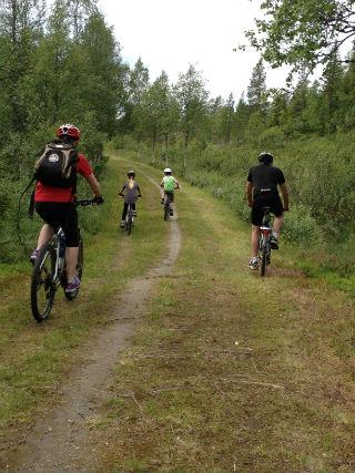 Gamla vägen syklister