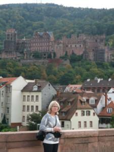 Heidelberg utsikt slott