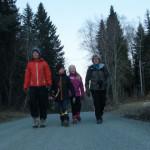 De glade vandrerne