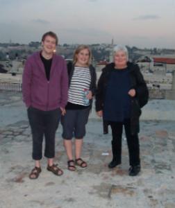 Jerusalems tak Øyvind, Oda og Elisabeth