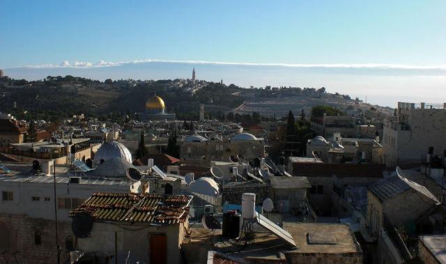 Utsikt Jerusalem
