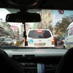 Drosje i Ramallah