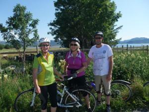 Syklister Lauvøya